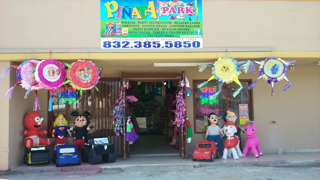Pinata Park Party Store In Houston