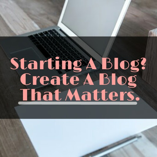 blog that matters