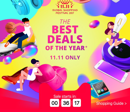 AliExpress flash sales 2017