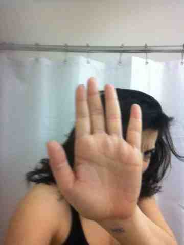 Leyla A. Getting in the Shower