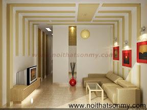 Mẫu thiết kế nội thất phòng khách 334