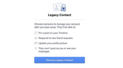 """Facebook permitirá dejar """"herederos digitales"""""""