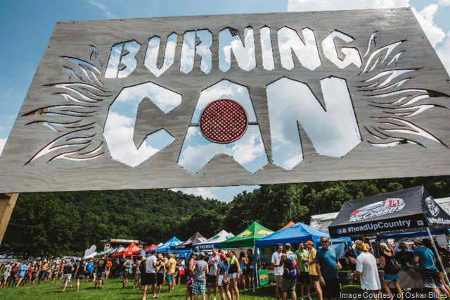 Oskar Blues Burning CAN (Not Justa) Beer Fest is Back in NC Aug. 10-11
