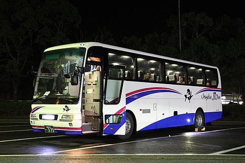 中国JRバス「ポートレイク」 島根・373 安富PAにて