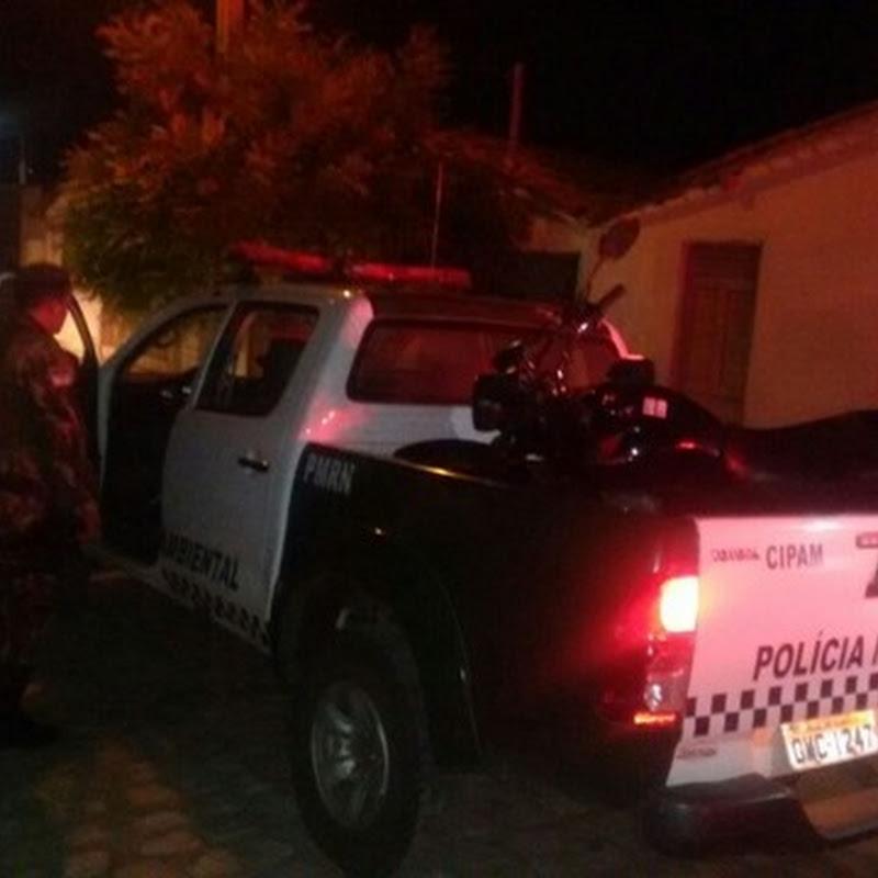 Elemento é baleado durante troca de tiros com a Polícia no bairro Santo Antônio
