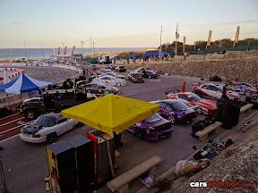 Drift car pits