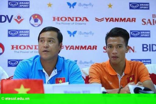 Hình 1: U.23 Việt Nam giữ kín đội hình ra sân trận gặp Myanmar