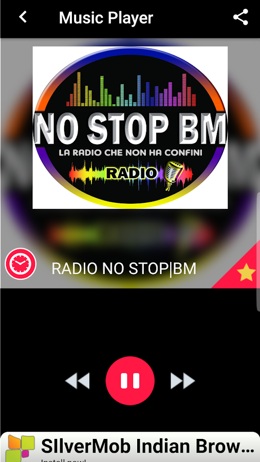 Radio No Stop BM- screenshot