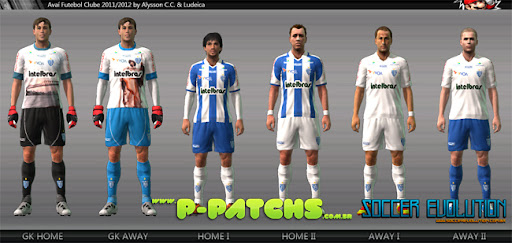 Avaí 11-12 Kitset para PES 2011 PES 2011 download P-Patchs