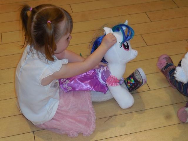 Build-a-Bear Workshop party pony