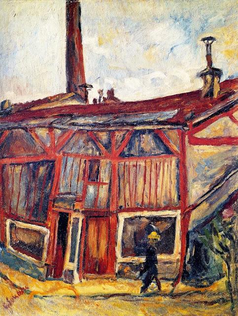 Chaim Soutine - The Artist's Studio, Cité Falguière
