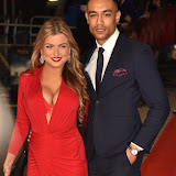 OIC - ENTSIMAGES.COM - Zara Holland and Scott Saunders at the  Pride and Prejudice and Zombies - European film premiere in London 1st February 2016 Photo Mobis Photos/OIC 0203 174 1069