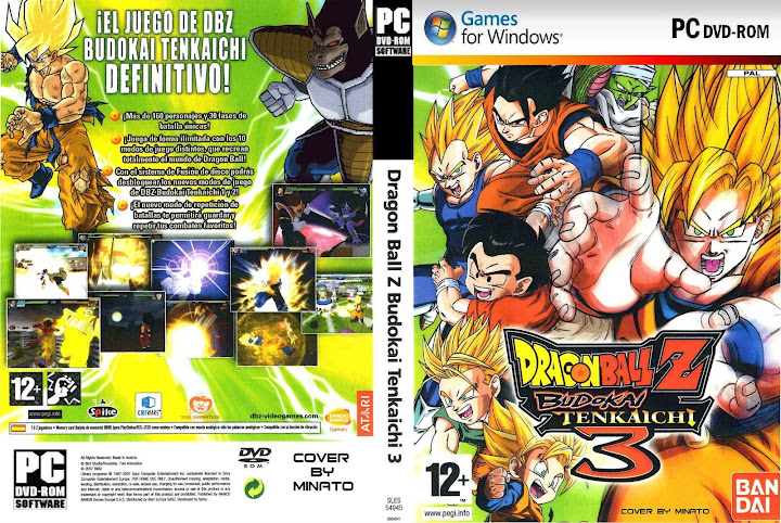 dragon ball budokai tenkaichi 3 pc  full version