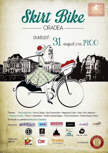 SkirtBike, sau domnişoarele pe biciclete, august 2014 #1