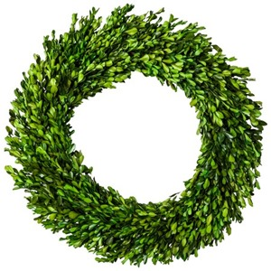 smith hawken boxwood wreath