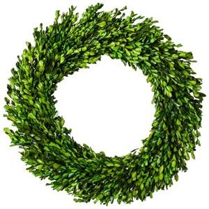 smith hawken boxwood wreath