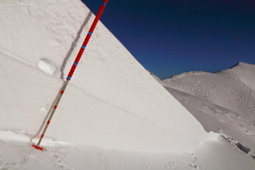 Avalanche Mont Thabor, secteur Grand Argentier, Voie normale depuis Fontaine Froide ; face Sud - Photo 1