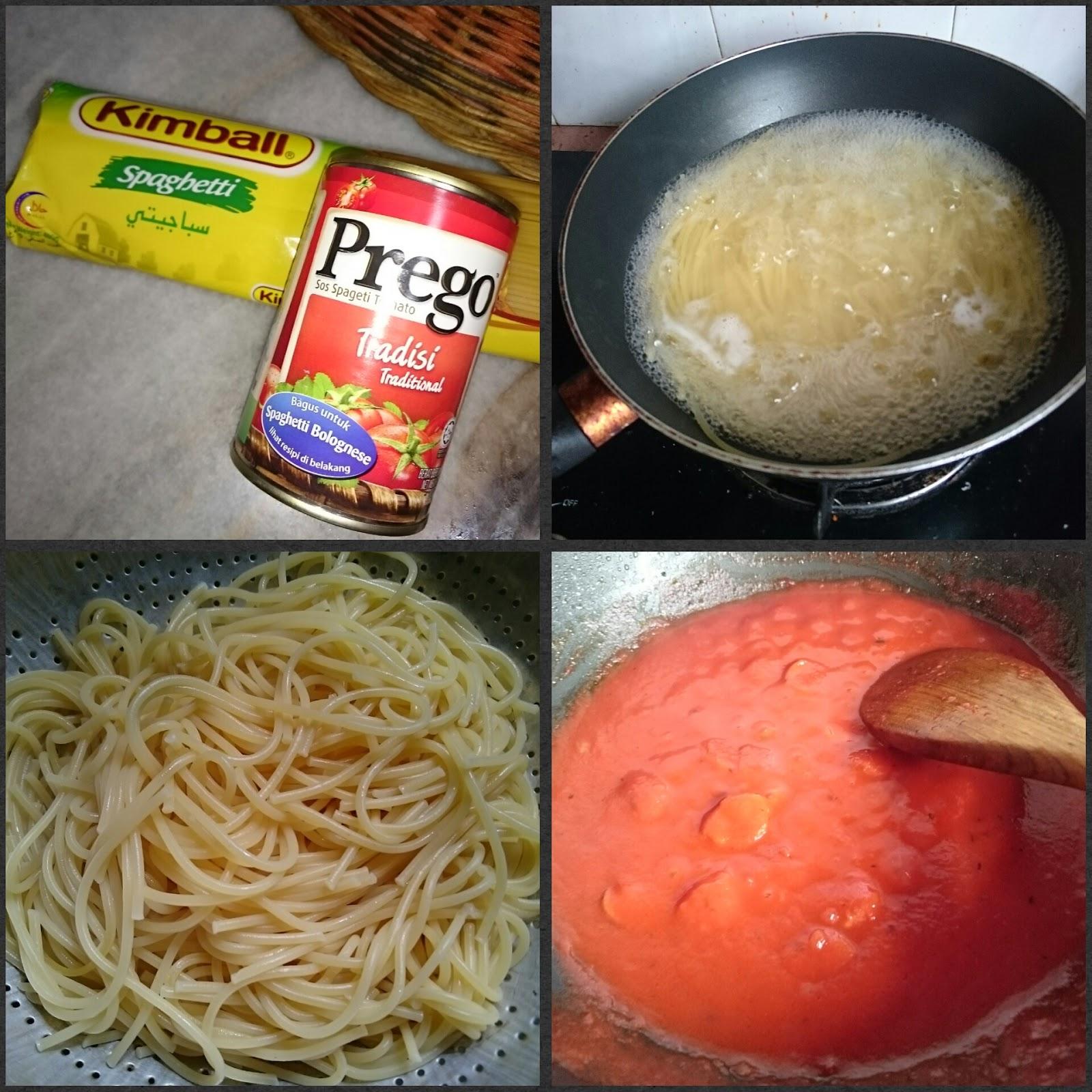 My Life My Loves Resepi Mudah Spaghetti Bolognese