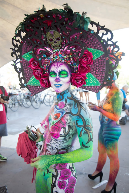 IMG_4901 Color Sea Festival 2018 - Bodypainting a Fano