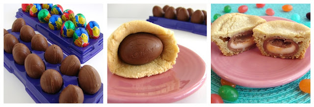 Cadbudry Cream Stuffed Cookie @KatrinasKitchen