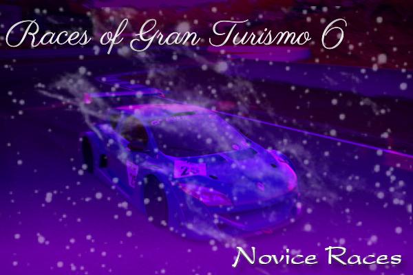 Gran Turismo 6 Novice