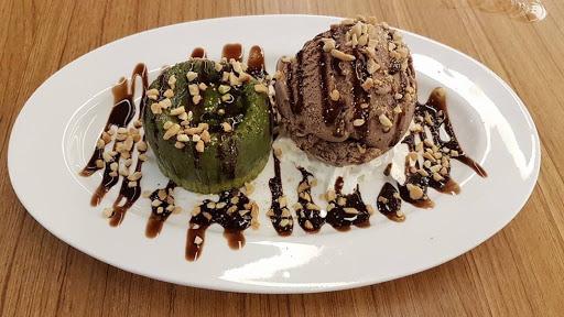 12. The Story of Matcha Lava Cake, M Seven Cafe