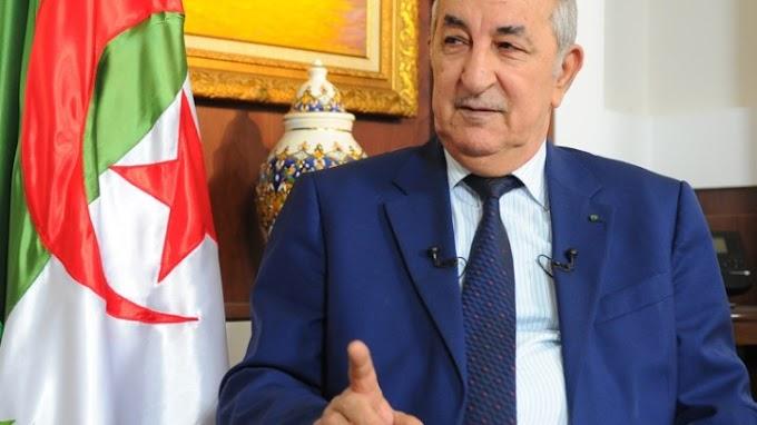 El presidente de Argelia analiza con el primer ministro italiano la situación en el Sáhara Occidental.