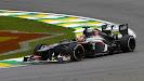 Nico Hulkenberg corners the Sauber C32