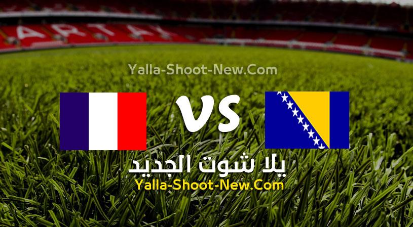 مباراة فرنسا والبوسنة والهرسك