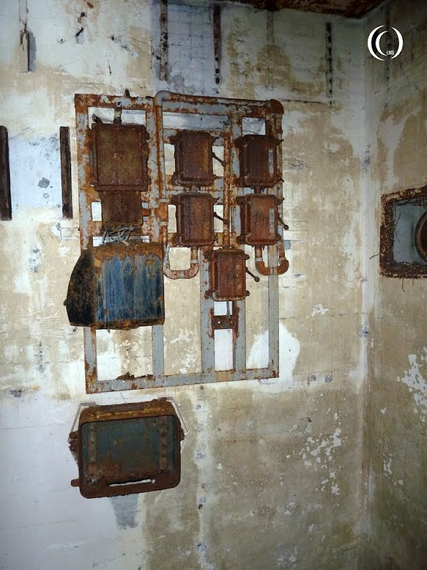 old installations inside bunker 005 Wolfsschlucht 2 Margival