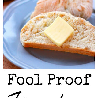 Easy Peesy French Bread Recipe – Four Ingredients, ONE Hour, Fool Proof.