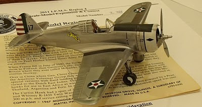 P-36 Mohawk model.