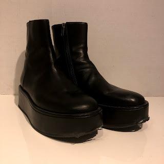 Ann Demeulemeester Platform Boots