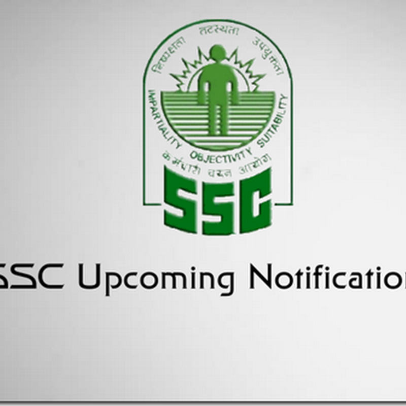 ssc upcoming notifications