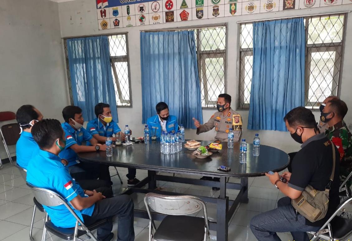 Jalin Silaturahmi Kapolres Majalengka Bersama DPD KNPI Kabupaten Majalengka