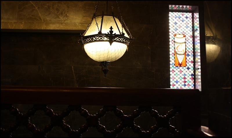 Original lamp in Antoni Gaudi's Palau Guell