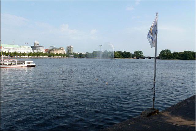 El Binnenalster o Lago Interior del Alster