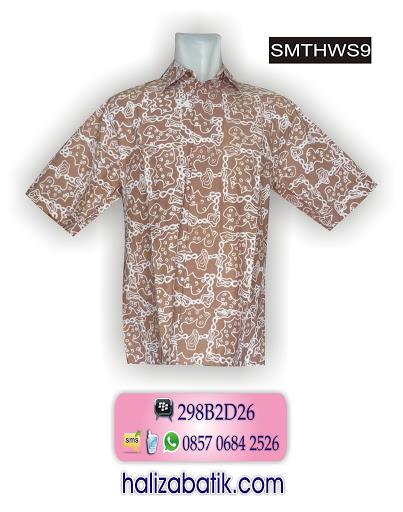 model batik terbaru, model baju kerja, baju batik pria