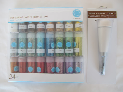 Mother s day craft and giveaway the crafts dept for Martha stewart crafts glitter set