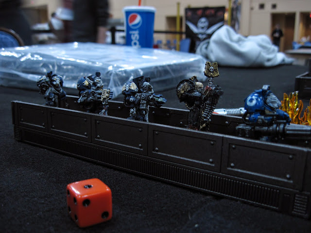 Ultramarines on the hunt for the Inquisitor.