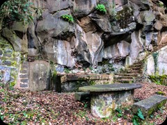 Baumes de Caixurme de de Castellfullit