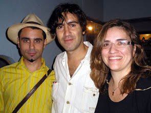 Photo: Poesia ao Entardecer: Dirceu Villa, Cristian de Nápoli e Virna Teixeira