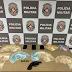 FLAGRANTE: casal é preso com arma, celulares e R$ 7 mil