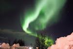 Aurora Borealis 27-3-2012 Kiruna, Sweden