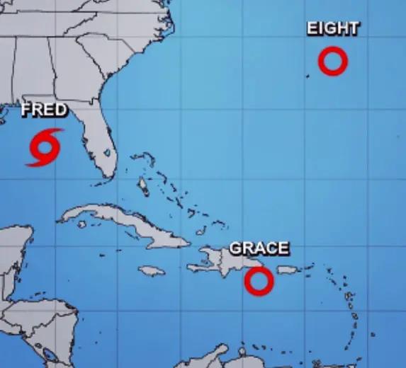 Se forma la depresión tropical ocho