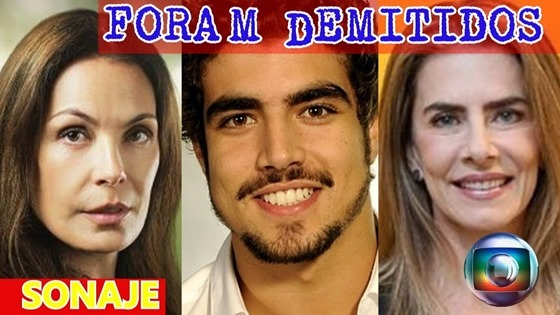 atores que foram demitidos da rede globo