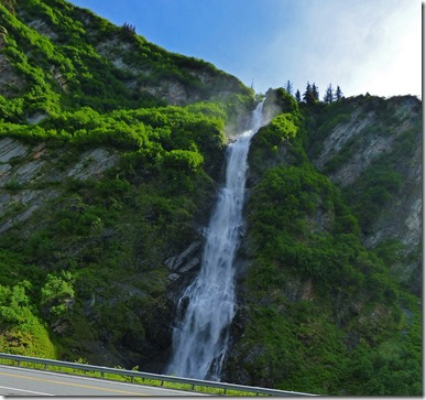 Bridal Veil Falls, Richardson Highway near Valdez Alaska