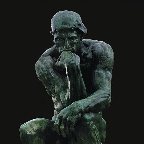 Il pensatore - Auguste Rodin, 1881