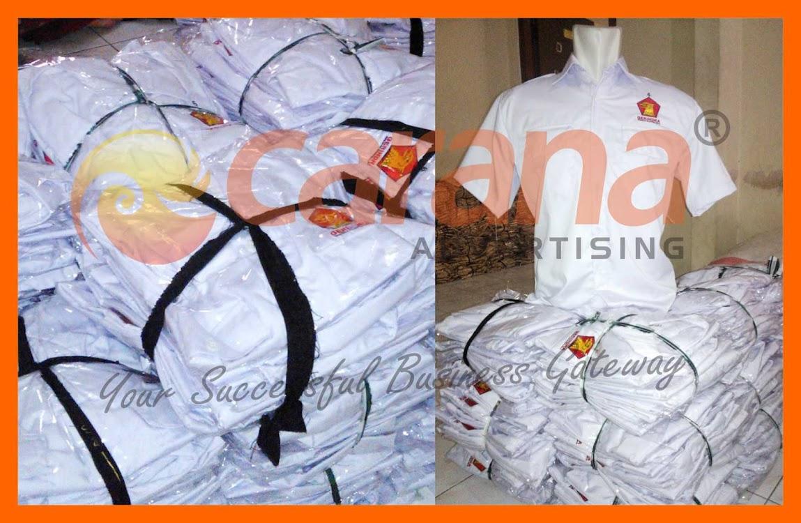 Packaging Seragam Partai Gerindra