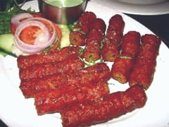Spicy meat kebabs recipe